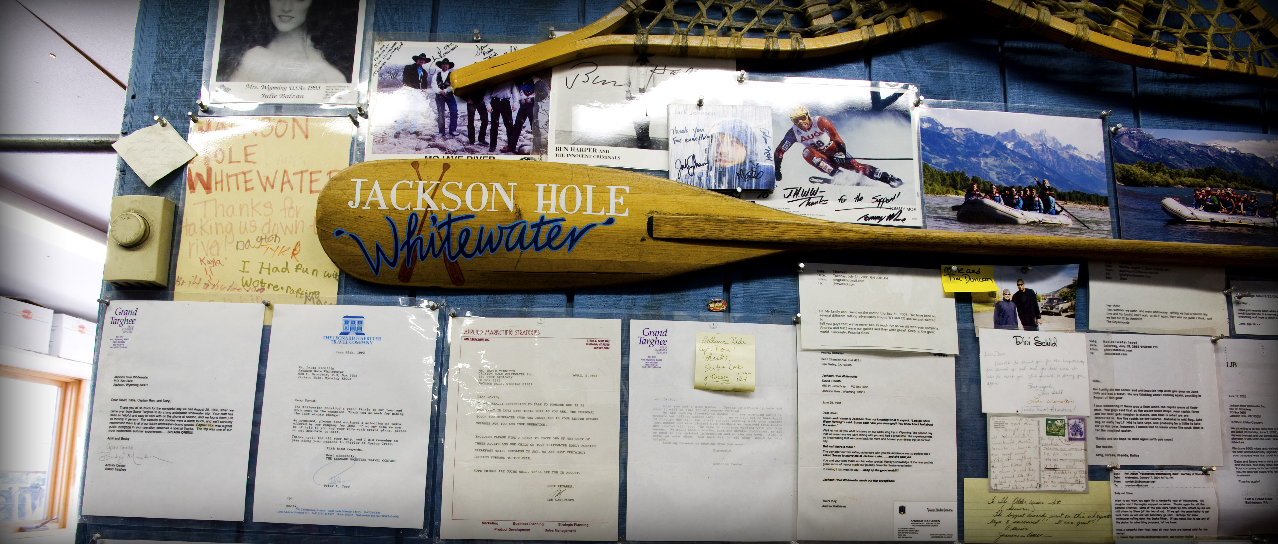 Jackson Hole boathouse - Scenic floats and rafting