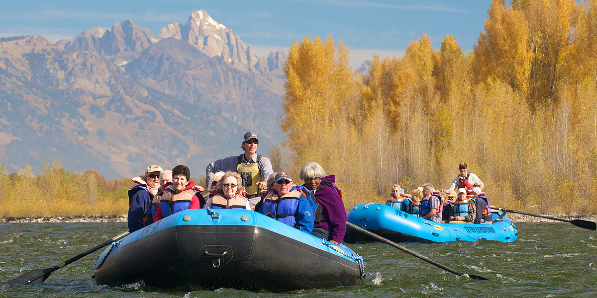Scenic float trip packages on Snake River
