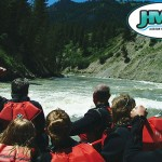 Whitewater on Snake River Canyon - Jackson Hole